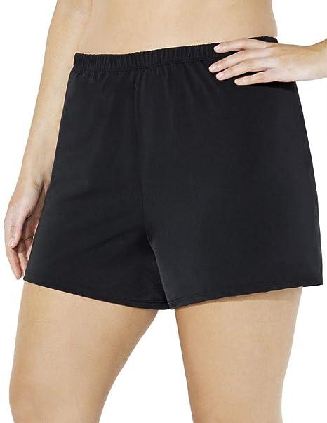 92c65ac03d Amazon.com: Swimsuits for All Women's Plus Size Loose Short Swim ...