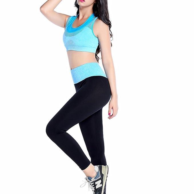Morbuy Yoga Conjunto de Mujer, Mujeres Chaleco Deportivo Top ...