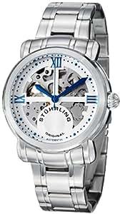Stuhrling Original Men's 386.33113 Classic Delphi Argent Automatic Skeleton Stainless Steel Bracelet Watch
