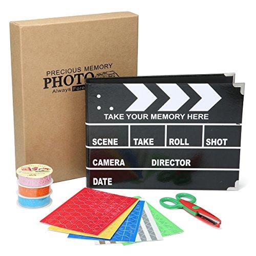 ARTISTORE SLATE Album Photo Scrapbooking with Scrapbook Storage Box As Ideal Gifts for Wedding,Valentines,Travel Book,Graduation - Valentine Travel Express