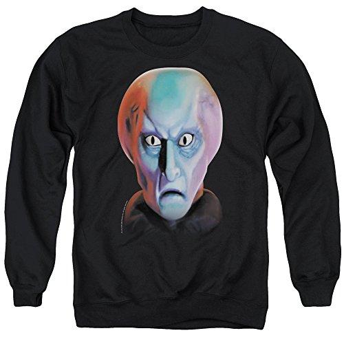 Star Trek Balok Head Unisex Adult Crewneck Sweatshirt for Men and Women, X-Large ()