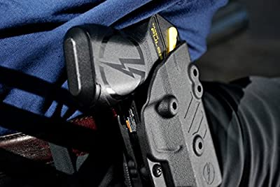 Blade-Tech Accessories/Pulse Owb Holster Blade-Tech Kydex Outside-The-Waistband Holster for Taser Pulse, Black, Fits Outside Pant On Belt Loop
