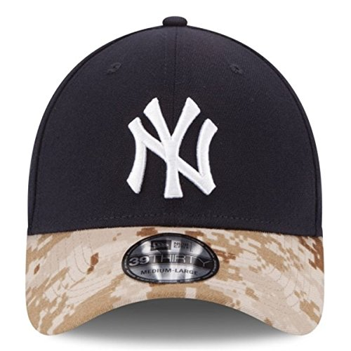 100% Authentic Officially Licensed MLB New York NY Yankees   Memorial Day    Special Limited Edition 3930 39Thirty Flex Fit Camo Hat Size  Large   X  Large 6540fb646b0