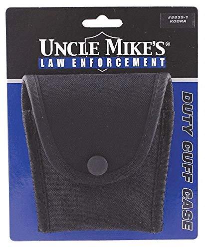 (Uncle Mike's 88351 - Handcuff Case Black Nylon Duty Cuff)