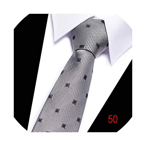 (New Men Tie Striped Necktie For Red Gray Brown Gradient Striped Tie For Wedding Jacquard Woven Silk Neck)