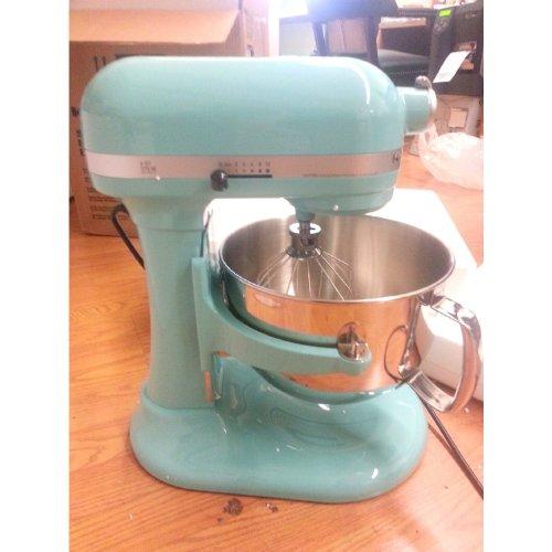 Amazon.com: KitchenAid Kp26m1xaq5 Professional Series 6 Quart Stand Mixer (Aqua  Sky Blue): Electric Stand Mixers: Kitchen U0026 Dining