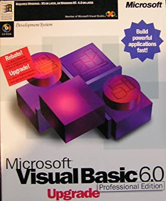 Microsoft Visual Basic Professional 6.0 Upgrade [Old Version]