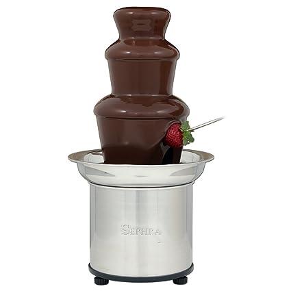 Amazon Com Sephra Home Fondue Fountain Chocolate Fountain Electric