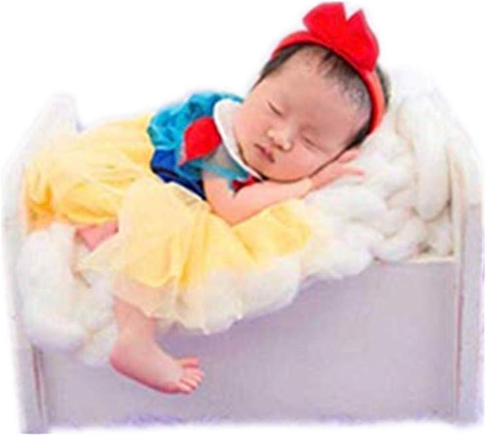 2pcs Newborn Baby Girls Costume Photography Prop Outfits Little Princess Dress