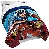 """Marvel Avengers 'Publish' Full Reversible Comforter, 76"""" x 86"""""""