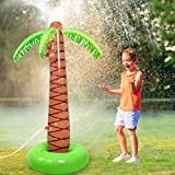 Viyor shop Sprinkler Water Toys Inflatable Palm Tree for Kids ,Water Toys forSummer Outdoor Party Yard,61' (Palm Tree)
