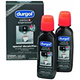 Durgol Swiss Espresso Decalcifier for All Brands High-End Espresso Machines, 4.2 Fluid Ounce Bottle, (4-Bottles) Review