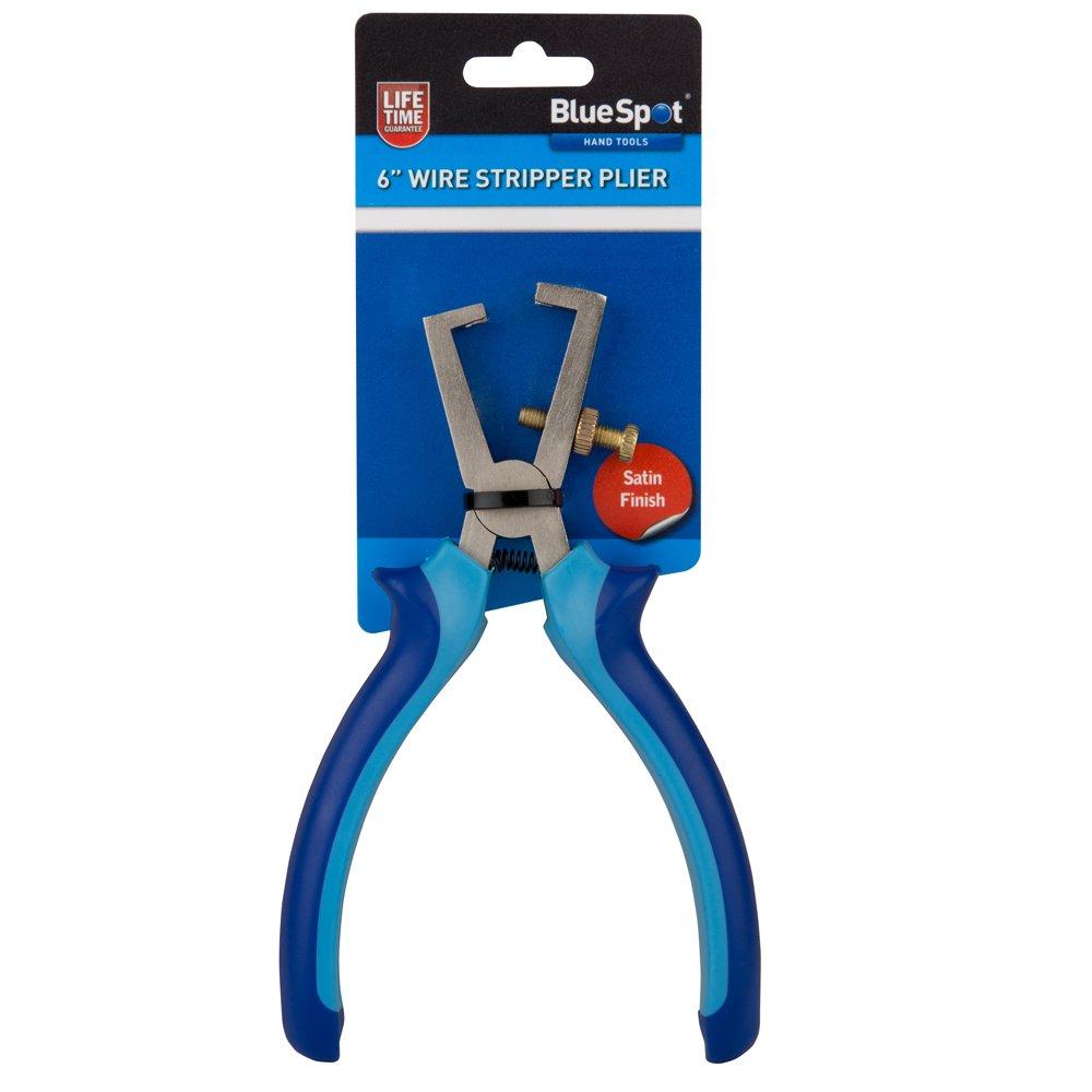 Blue Spot 08190 6 Inch Soft Grip Wire Strippers