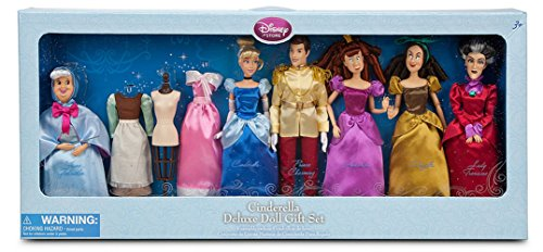 Disney Princess Exclusive Deluxe Cinderella Doll Gift Set]()