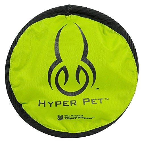 Hyper Pet FLIPPY FLOPPER 9″ Dog Toy Floppy Flyer Soft Bite Frisbee Disc