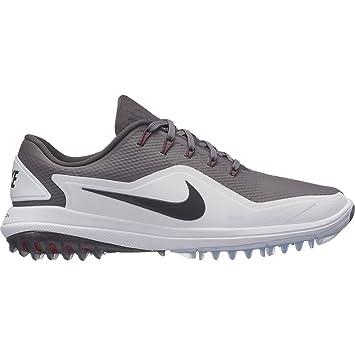 huge discount 7517f 3b40b Nike Lunar Control Vapor 2 Chaussures de Golf pour Homme Gris Blanc Rouge EU