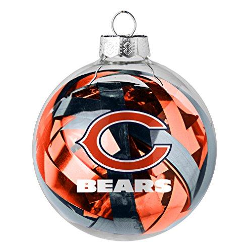 NFL Chicago Bears Large Tinsel Ball Ornament - Chicago Bears Christmas Ornaments: Amazon.com