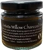 Charcoal Powder - 125ml Glass Jar