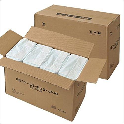 山善(YAMAZEN) お徳用使い捨てペットシーツ (超薄型レギュラー800枚入) PS-200R*4