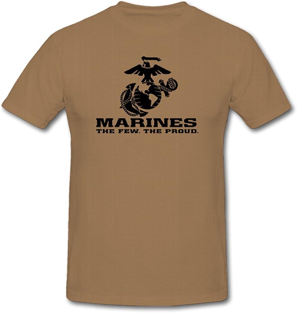 T-shirt Usmc avec l/'inscription /« Marines The Few The Proud /» 701