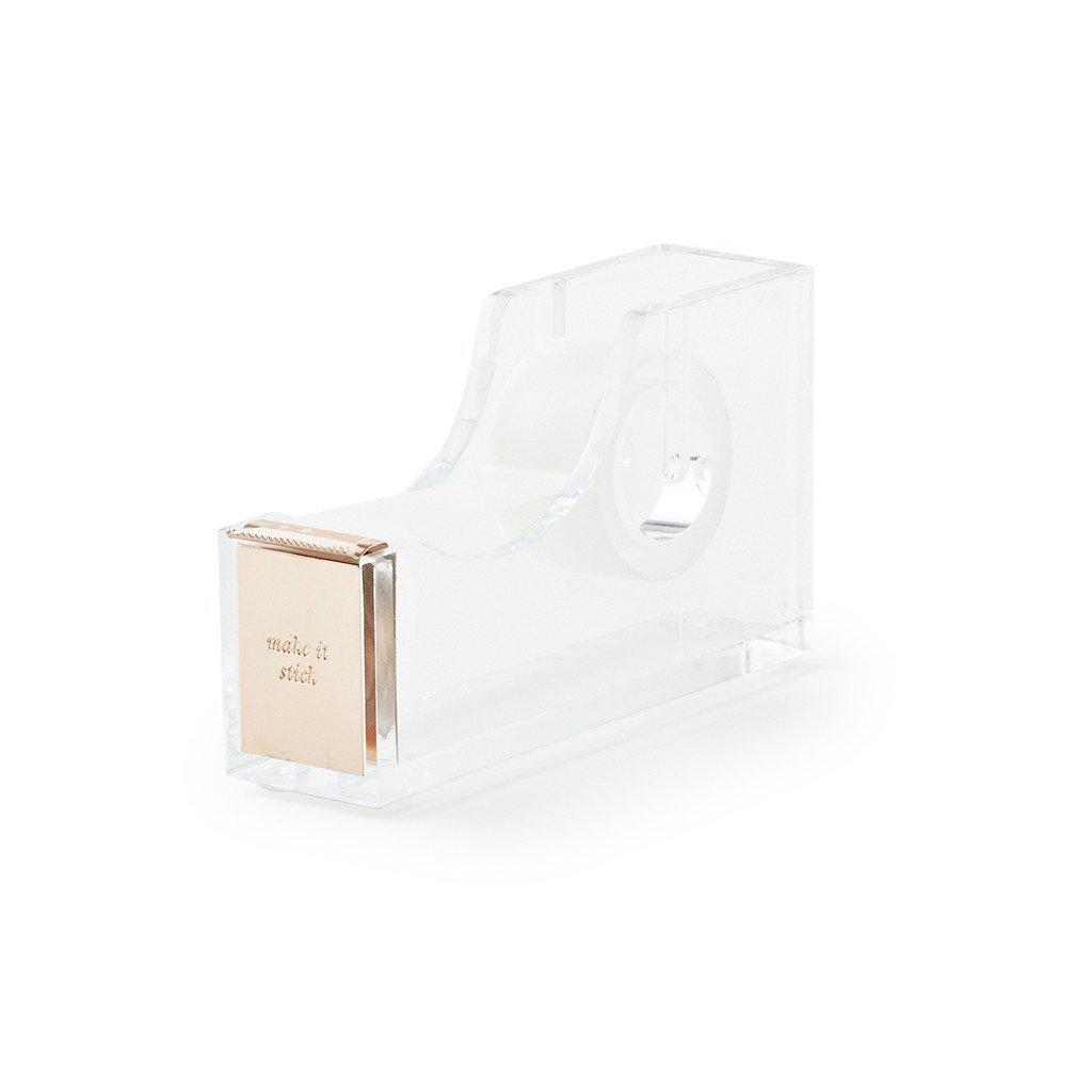 kate spade new york Acrylic Tape Dispenser, Gold