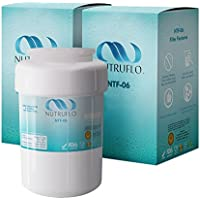 NuTruFlo NTF-06 MWF Water Filter Compatible Replacement for GE MWF SmartWater, MWFA, MWFP, GWF, GWFA, Kenmore 9991,46-9991, 469991 Refrigerator (2 Pack)