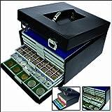 SAFE 6325 MB BEBA Carry Case Black (empty) for till 7 BEBA Coin Boxes 6601 - 6612