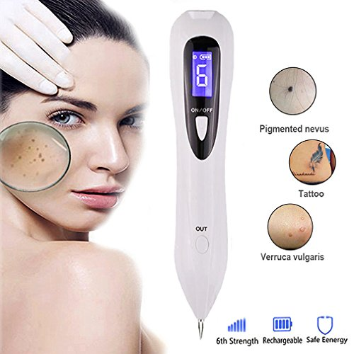 Spot Eraser Pro Beauty Mole Removal Sweep Spot Pen Easy and No Bleeding Freckles Skin Tag Remover Pen Rechargeable Home Use Spot Remover Pro by Yartar