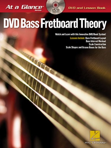 Bass Fretboard Theory - At a Glance (DVD and Lesson Book)