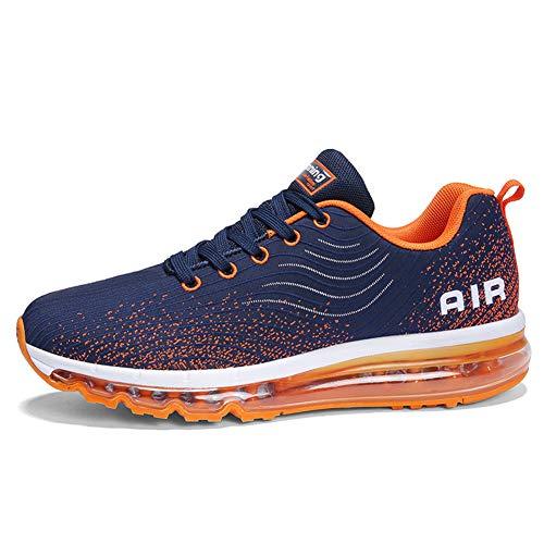 Mode Course De Homme 44 Extérieurs Sneakers 35 Femme Fitness Activités Orange Gym Coussin Multisports Chaussure Sport Baskets D'air RXq4HHP