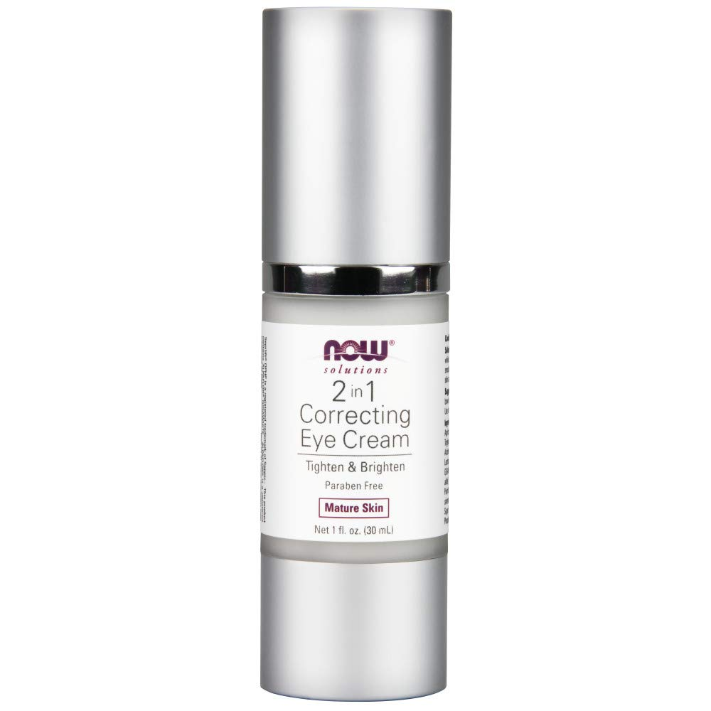 NOW 2 in 1 Correcting Eye Cream, 1-Ounce Now Foods 8081