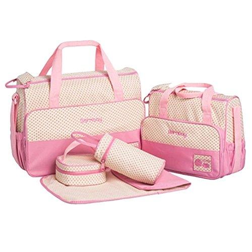 novogifts bébé à langer Sacs à langer rosa