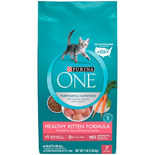 Purina ONE Natural Dry Kitten Food; Healthy Kitten - 7 lb. Bag