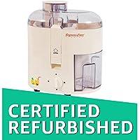 (CERTIFIED REFURBISHED) Signora Care SCJ-405 350-Watt Juicer (Creamish White)