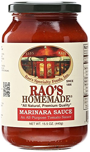 Marinara Sauce Recipe - Rao's Homemade Marinara Sauce, 15.5 Ounce Jar