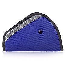 Seat belt adjusters,Konsait Safety Belt Covers,Seat Belt Positioner (Blue)