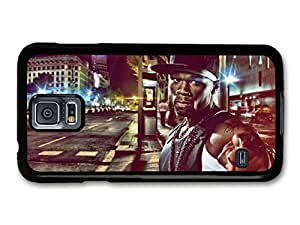 AMAF © Accessories 50 Cent Gangster Pointing Finger on the Street case for Samsung Galaxy S5