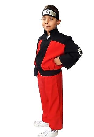 Talla 128 (4/5 años) - disfraz - naruto katsumi yosomono - niño ...