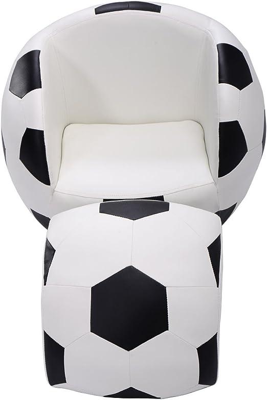 Silla de sofá para niños con Forma de balón de fútbol MTN-G ...