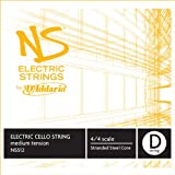 D'Addario NS Electric Cello Single D String, 4/4 Scale, Medium Tension