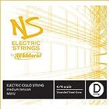D\'Addario NS Electric Cello Single D String, 4/4 Scale, Medium Tension