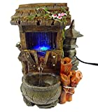 GiftsRDecor Indoor Tabletop Fountain Water House