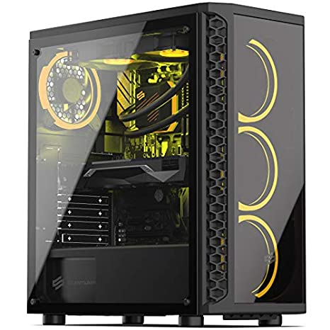 Sedatech PC Gaming Ultimate AMD Ryzen 7 2700X 8X 3.7Ghz, Geforce RTX 2070 8Gb, 16Gb RAM DDR4, 250Gb SSD NVMe M.2 PCIe, 2Tb HDD, USB 3.1. Ordenador de ...