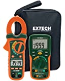 Extech ETK35 Electrical Test Kit with True RMS AC/DC Clamp Meter