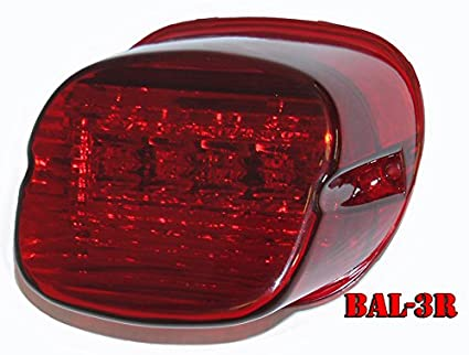 Bright Ass Lights Taillight With Multiple Strobe Patterns For Harley  Davidson Models   Laydown Style With Idea