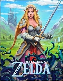 Legend of Zelda: coloring book for kids and teens: Peter Friske ...