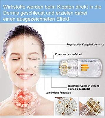 Derma Stamp Anti Aging für Gesicht, Oberlippen, Augen