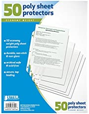 Better Office Sheet Protectors, 50 Pack