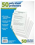 #1: Better Office Sheet Protectors, 50 pack