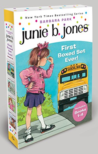 Junie B. Jones's First Boxed Set Ever! (Books 1-4) for $<!--$10.08-->